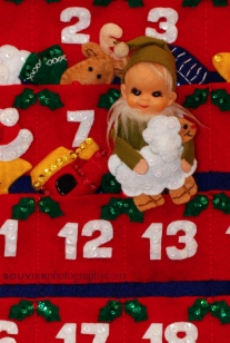 standing in the advent calendar