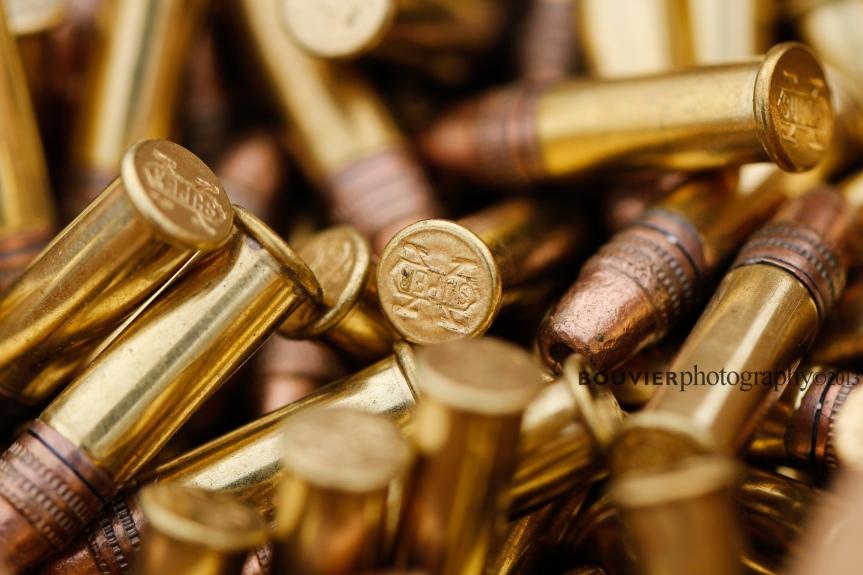 22 rifle shells