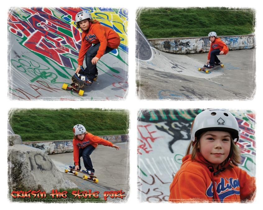 cruisin the skate park