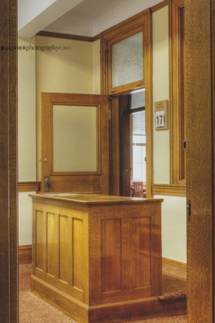 Office on main floor of Gravelbourg's Town Hall / Court House