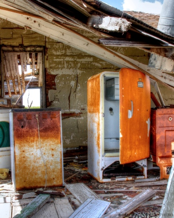 Rusted Kitchen