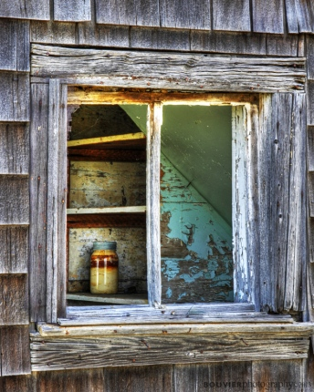 Solitary Mason Jar