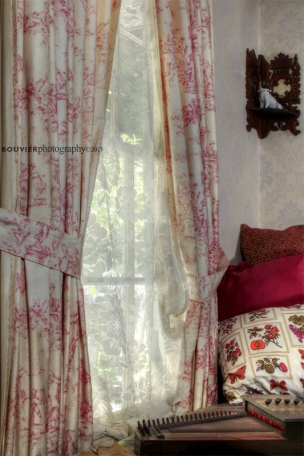 Lace Curtains and Pillows