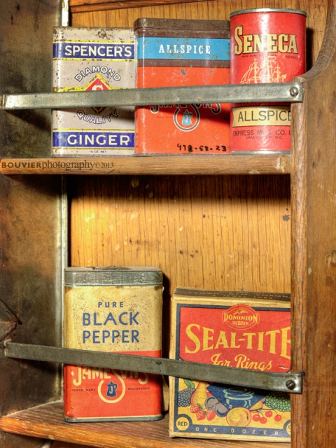 Old Spice Tins