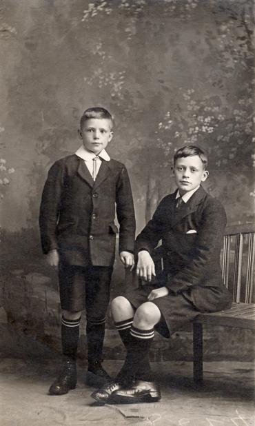 Jim and Octavius Simpson
