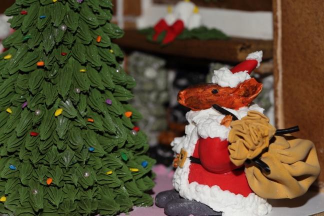 Mouse Santa