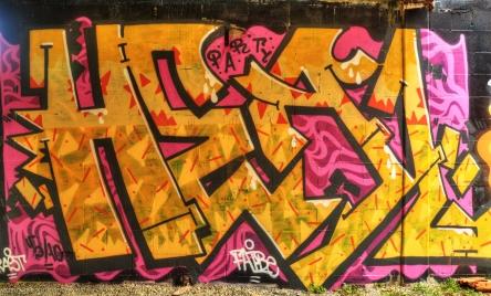 Deertrail Resort Graffiti