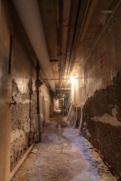crumbling tunnel