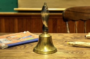 The teacher's hand bell