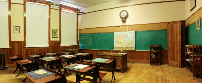 Old Fashioned School Room