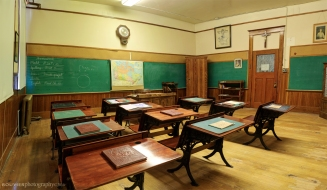 Old Fashioned School Room, Gravelbourg