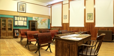 Old Fashioned School Room, Gravelbourg SK