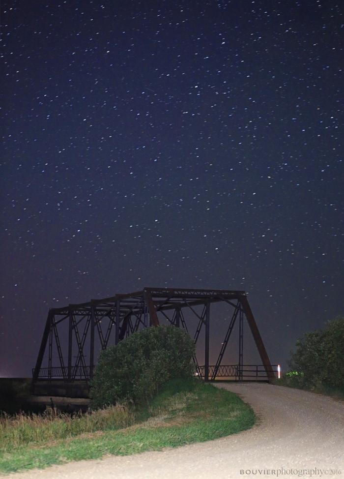 Coppen Bridge at Night