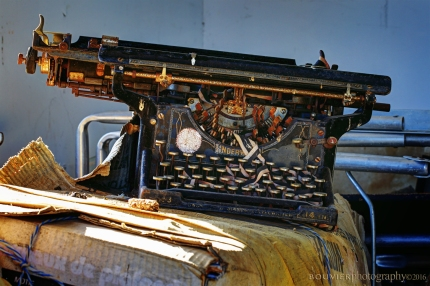 Antique Underwood 14 Standard Typewriter No.3